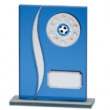 Blue Spirit Mirrored Glass Award
